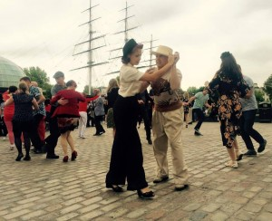 The Big Swing Dance On The Gardens