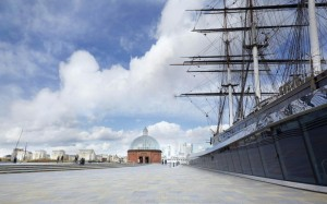 Cutty Sark from the side