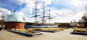 View of the Cutty Sark